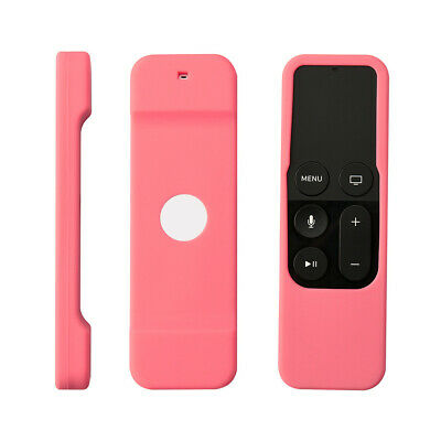 AU8.28 • Buy Remote Case Anti-Slip Protective Silicone Cover Skin Fits For Apple Tv 4th Gen.