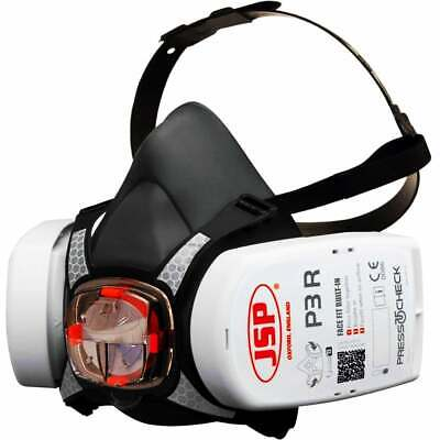Half-Mask With FFP3 / P3 Filters Protection From Gas, Asbestos Dust • 39.99£