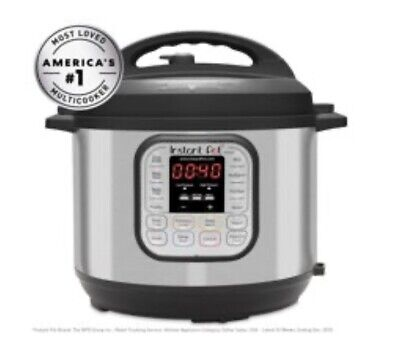 $103.99 • Buy Instant Pot Duo60 6 QT 7-in-1 Multi-use Programmable Pressure Cooker Slow Cook