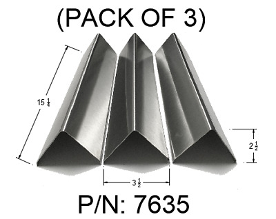 $ CDN50.68 • Buy Stainless Steel Gas Grill Flavorizer Bars 7635 For Weber Spirit 200 E210 Series