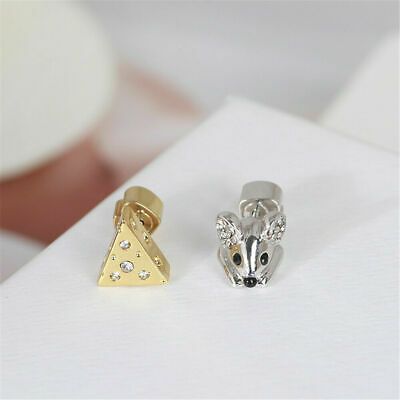 $ CDN25.16 • Buy Kate Spade New York Year Of The Rat Mouse & Cheese Stud Earrings