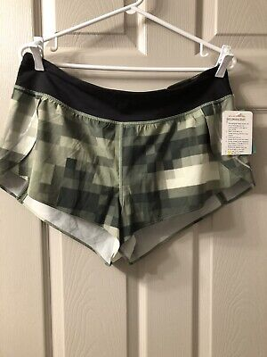 $ CDN75 • Buy Lululemon Split Second Shorts II ...Size 10 New With Tag.