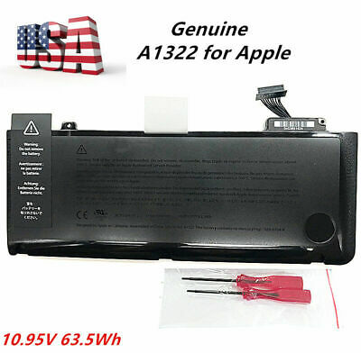$29.69 • Buy Genuine OEM A1322 Battery For Apple MacBook Pro 13 A1278 Mid 2009 2010 2011 2012