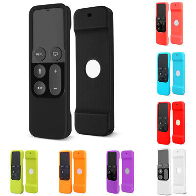 AU8.31 • Buy For Apple TV 4th Gen. Remote Controller Cover Protective Case Soft Skin Silicone