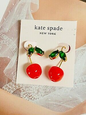 $ CDN24.18 • Buy Kate Spade Red Cherry Earring Free Shipping