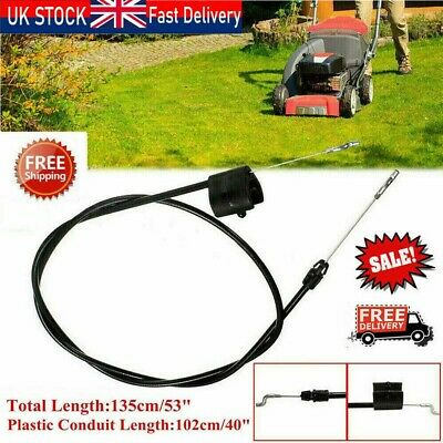 53  Lawnmower Push Lawn Mower Throttle Pull Cable Engine Control Cable For MTD • 7.58£