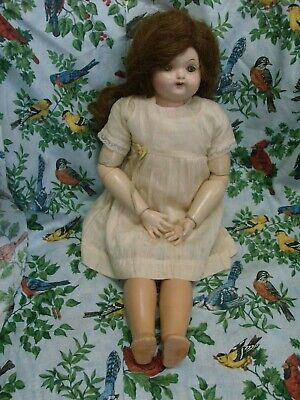 $26 • Buy Rare Early Antique Effanbee Composition Doll W Ball Jointed Kid Body