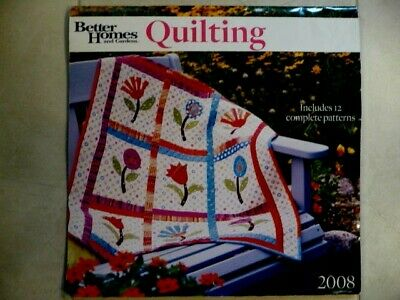 $6.95 • Buy Better Homes And Gardens 2008 Quilting Calendar - All Patterns Included