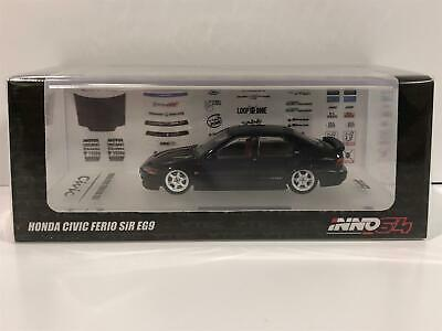 $38.22 • Buy Honda Civic Ferio SiR EG9 With Spare Decals And Wheels 1:64 Inno Models