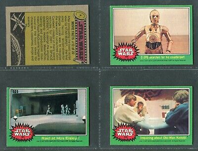 £1.49 • Buy TOPPS CHEWING GUM 1977  STAR WARS (Green Border)  199 TO 264 - PICK YOUR CARD