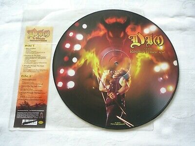 $14.99 • Buy DIO ANTHRAX& MORE LP PICTURE DISC RECORD W/ BONUS 2014 Record Store Day