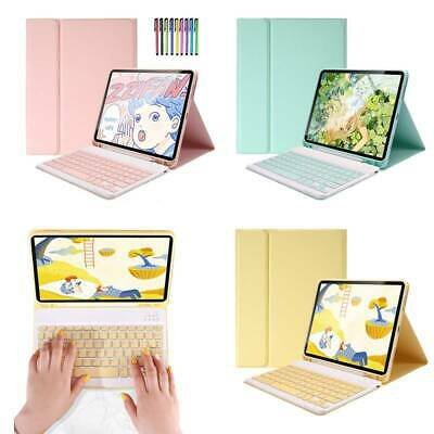 AU43.89 • Buy TPU Leather Detachable Bluetooth Keyboard Case With Pencil Holder For Apple IPad