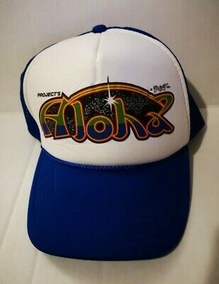 $ CDN9.67 • Buy Truckers 5 Panel Hat Adjustable Mesh-Project's Aloha New With Tags