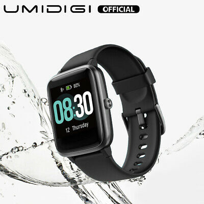 AU17.50 • Buy UMIDIGI Uwatch3 Smart Watch Fitness Tracker 5ATM Waterproof For Android Ios 2020