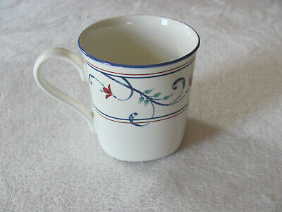 $7.99 • Buy Mikasa Intaglio Annette CAC20- Red Flowers-Squared Bottom Mug(s) - Up To 7 Avail