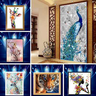 5D Diamond Painting Embroidery Cross Craft Stitch Arts Kit Mural Home Decor • 4.99£
