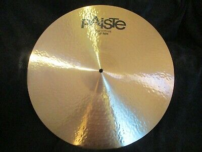 $295 • Buy New Paiste Signature Prototype 20 Inch Ride Cymbal, Hand Hammered, Brilliant !