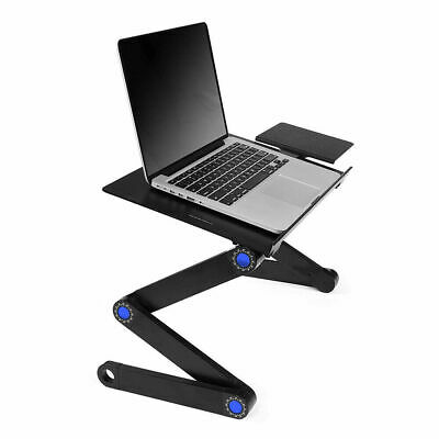 AU45.45 • Buy Foldable Laptop Notebook Multi-Fuction Computer Desk Home Bed Tray Table Stand