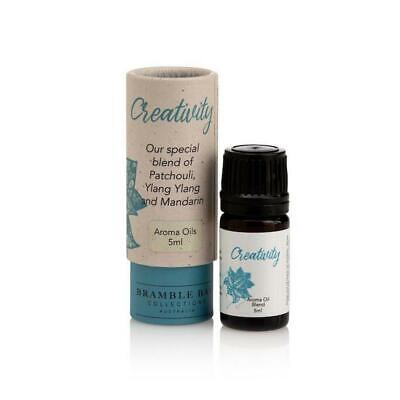 AU19.95 • Buy Create With Patchouli, Ylang Ylang And Mandarin 5ml Aroma Oil Blend By Bramle Ba