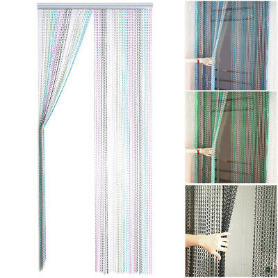 Metal Aluminium Chain Link Curtain Door Screen Blinds Fly Pest Insect Control UK • 35.95£