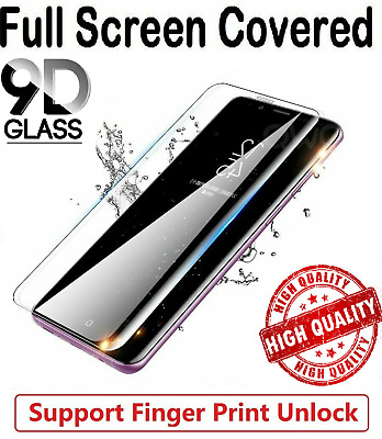 For Samsung Galaxy S10 S20 S9 S8 Plus Tempered Glass Screen Protector Film Curve • 1.99£