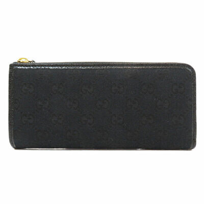 $342 • Buy GUCCI  268917 Long Wallet (with Coin Pocket) GG Outlet Zip Around Canvas