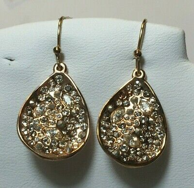 $20 • Buy Alexis Bittar Earrings Rose Gold Tone New Over Stock With Out Tags
