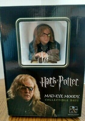 $34.95 • Buy Mad-Eye Moody Collectible Bust From Gentle Giant/Harry Potter/#593 Of 1750/NRFB