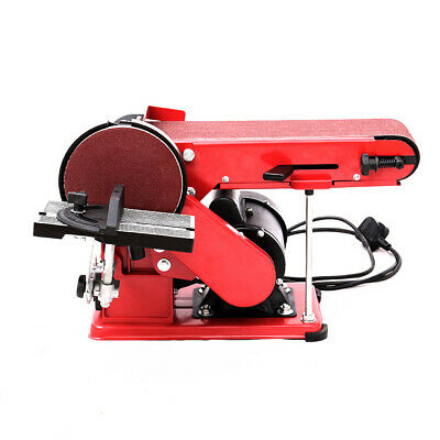 £85.95 • Buy Bench Belt And Disc Sander 6in With Cast Iron Base 375W Electric Mitre Sanding
