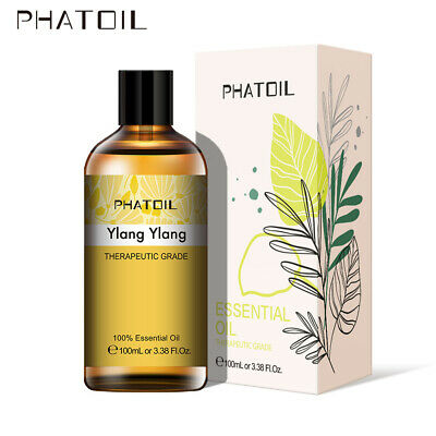 Ylang Ylang Essential Oils Aromatherapy Organic Essential Oil Fragrances 100ml • 7.88£
