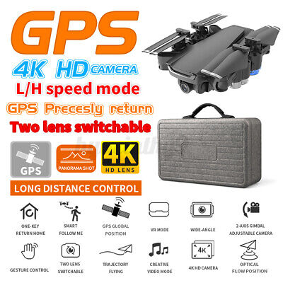 AU114.52 • Buy 5G Drones X Pro With HD 4K 1080P Camera Gps Follow Me Wifi FPV Quadcopter Drone