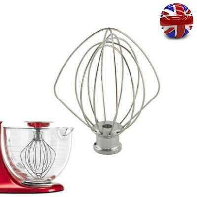 £12.86 • Buy UK Wire Whip Beater Mixer Attachment Whisk For Kitchen Aid KSM75 KSM110 K45WW
