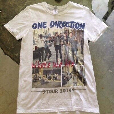 $ CDN16.74 • Buy One Direction 2014 Where We Are Tour T Shirt Funny Vintage Gift Men Women