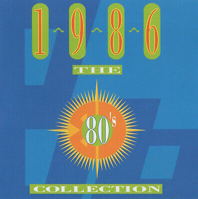 TIME-LIFE - THE 80's COLLECTION -1986 - DOUBLE CD • 4.99£
