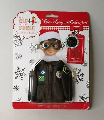 AU24.41 • Buy Elf On The Shelf Aviator Jacket And Goggles Claus Couture Collection 2014