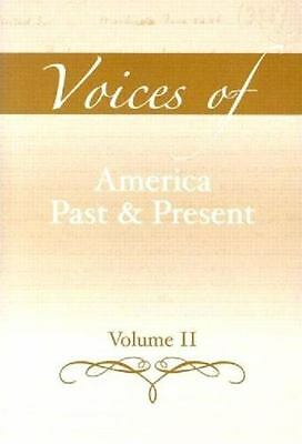 $1 • Buy Voices Of America Past And Present, Volume 2
