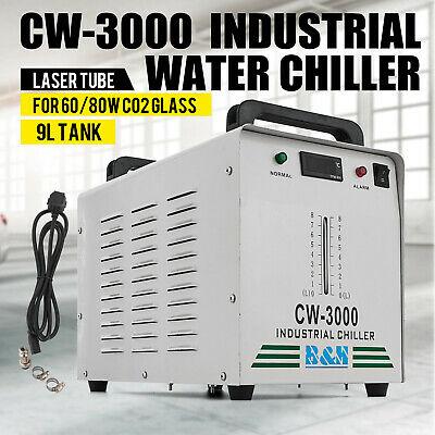 CW-3000 Industrial Water Chiller 60w/80w Glass Laser Tube Laser Engraver Pro • 104.99£