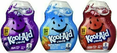 Kool-Aid Liquid Drink Mix Variety 3 Pack (Grape, Cherry And Tropical Punch) • 11.68£