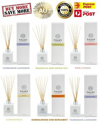 AU14.95 • Buy Tilley Reed Diffuser - Assorted Fragrance - Organic 75ml - 150 Ml - EXP POST