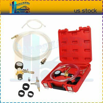 $47.97 • Buy Cooling System Gauge Vacuum Purge & Refill Kit Quick Fill Coolant Car Truck