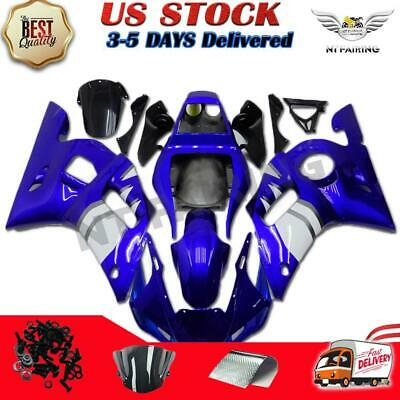$559.99 • Buy MSA Injection Blue ABS Plastic Fairing Kit Fit For Yamaha 1998-2002 YZF R6 G002