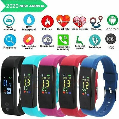 $14.79 • Buy Fitness Smart Watch Activity Tracker Heart Rate For Women Men Fitbit IOS Android