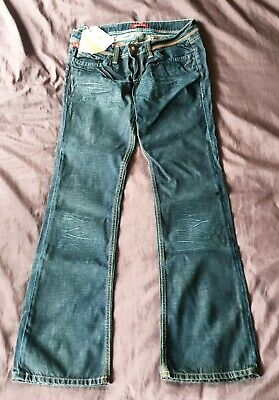 Indian Rose Low Rise Bootcut Jeans - W32 L33 Size 30 BNWT BNWD • 24.99£