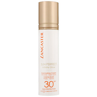 Lancaster Sun Perfect Infinite Glow Illuminating Cream SPF30 50ml • 18.65£