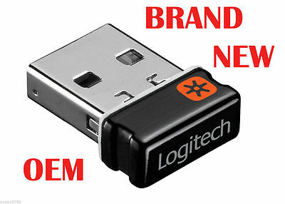 AU42.23 • Buy Logitech Unifying Receiver Wireless USB Dongle PC Mouse Keyboard 993-000439 OEM