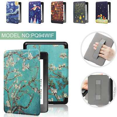 Smart Case Cover Painting Auto/Sleep For Amazon Kindle Paperwhite 4 10th 2018 • 7.09£