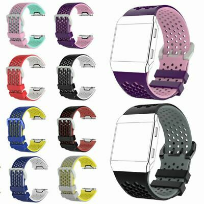 $ CDN6.24 • Buy Silicone Wrist Band Strap Bracelet Watchband Replacement For Fitbit Ionic Watch