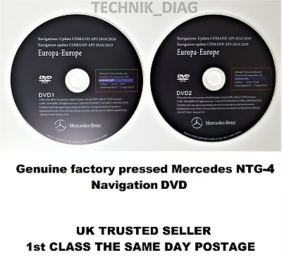 £19.95 • Buy Mercedes NTG 4-204 COMAND 2019 Navigation Map Update Package - A2048270800 ✔️
