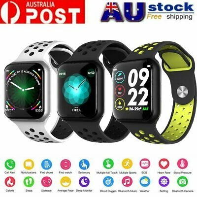AU44.78 • Buy Waterproof Bluetooth Smart Watch Heart Rate Blood Pressure For Iphone Android BY