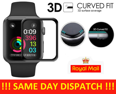 £3.99 • Buy Apple Watch Tempered GLASS Screen Protector Series SE/6/5/4/3/2/1 38/40/42/44mm